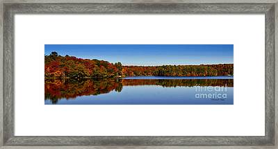 Adirondack October Framed Print by Diane E Berry