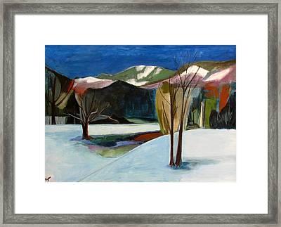 Adirondacks Framed Print