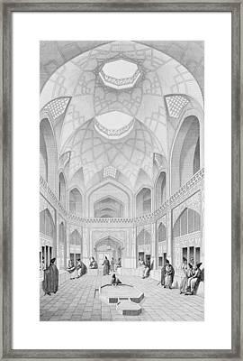 Adji Seid Hussein Bazaar Framed Print