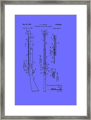 Adjustable Shotgun Choke Control Patent Framed Print by Mountain Dreams