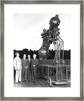 Adler Planetarium Projector Framed Print