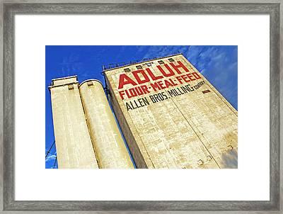 Adluh Flour Framed Print