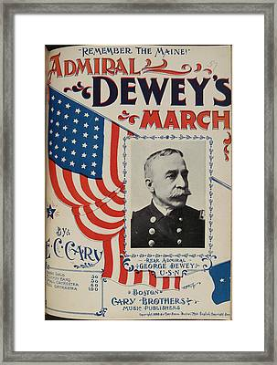 Admiral Dewey's March Framed Print by British Library