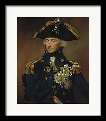 Lord Admiral Nelson Framed Prints