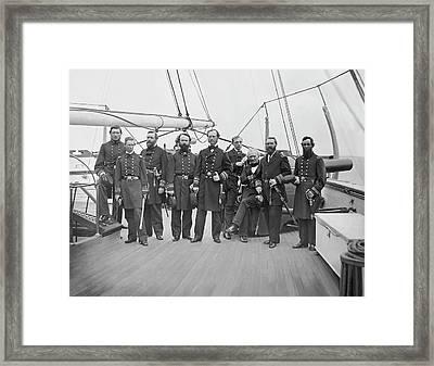 Admiral John A. Dahlgren Framed Print by Stocktrek Images