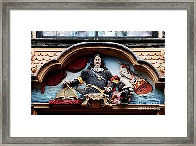 Admiral Tromp Framed Print by John Rizzuto