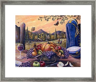 Admirals Harvest Framed Print