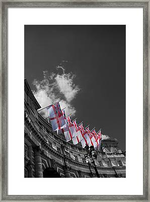 Admiralty Arch London Framed Print by Mark Rogan