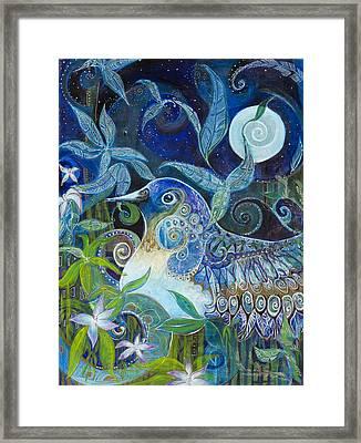 Admiration Framed Print by Leela Payne
