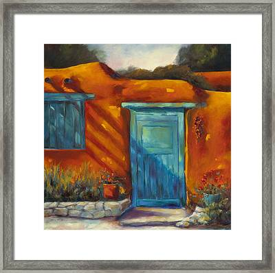 Adobe Charm Framed Print