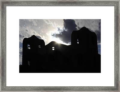 Adobe In The Sun Framed Print by Mike McGlothlen