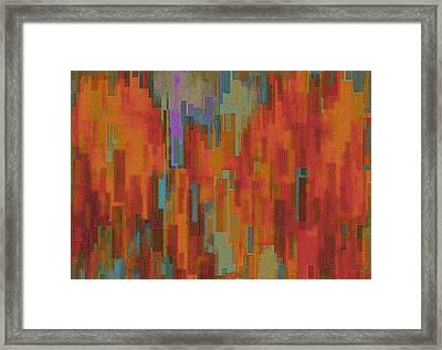 Adobe Sunset Framed Print by Jack Zulli