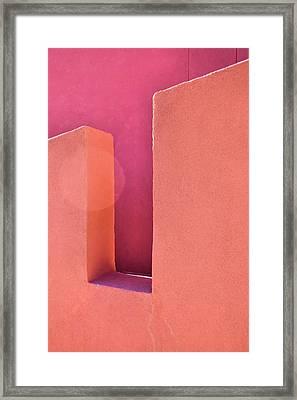 Adobe Wall Framed Print
