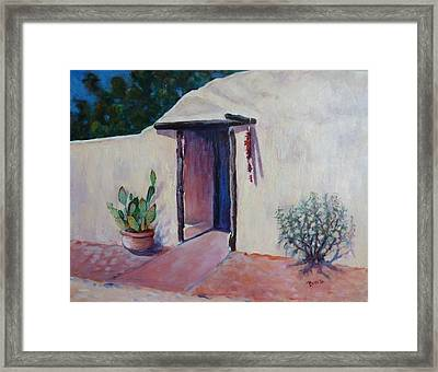 Adobe Welcome Framed Print