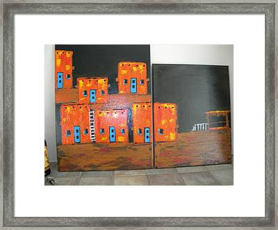 Adobes Framed Print