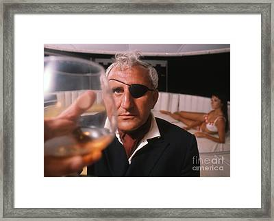 Adolfo Celi As Emilio Largo In Thunderball Framed Print
