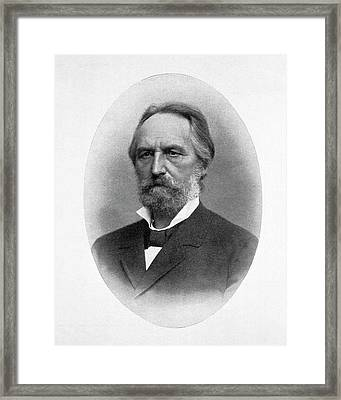 Adolph Fick Framed Print by National Library Of Medicine