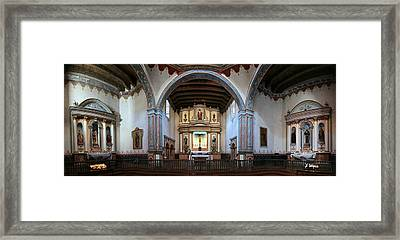 Adoration - Mission San Luis Rey De Francia  Framed Print