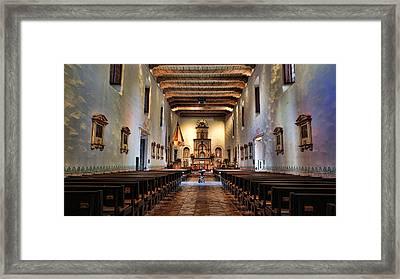 Adoration - San Diego De Alcala Framed Print