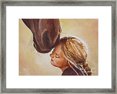 Adoration Framed Print by Andrea Timm