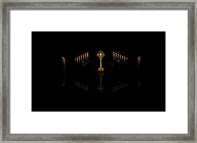 Adoration Framed Print by Cecil Fuselier