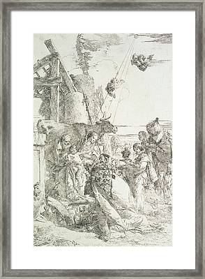 Adoration Of The Magi Framed Print by Giovanni Battista Tiepolo