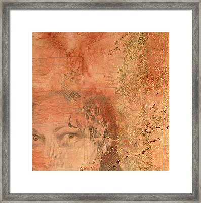 Adornment 2 Framed Print by Carlynne Hershberger