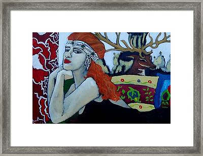 Adornment Framed Print by Terri Jordan