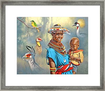 Adornments Framed Print