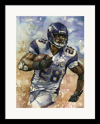 Randy Moss Framed Prints