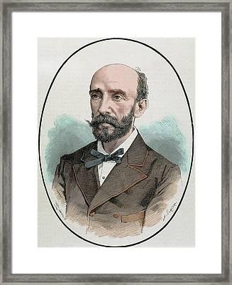 Adriansens Joaquin (d Framed Print by Prisma Archivo