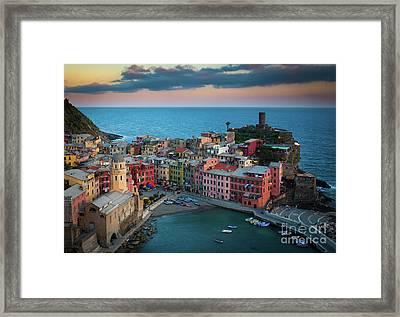 Adriatic Paradise Framed Print