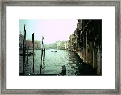 Framed Print featuring the photograph Adrift by Steve Godleski