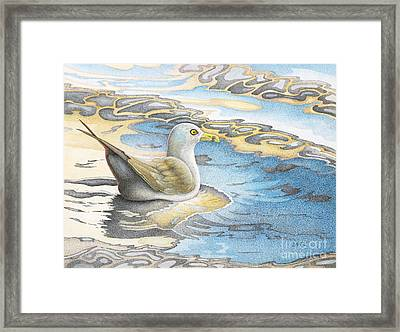 Adrift Framed Print by Wayne Hardee