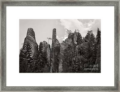 Adrspach Rocks - Czech Republic Framed Print by Martin Dzurjanik
