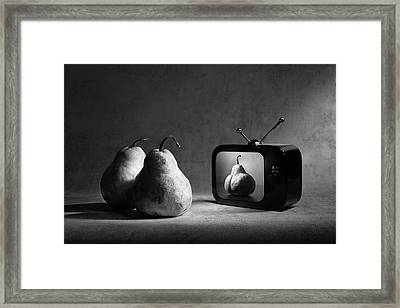 Adult Tv (version 2) Framed Print