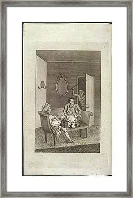 Adultery Framed Print by British Library