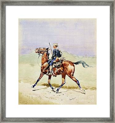 Advance Guard Framed Print by Pg Reproductions