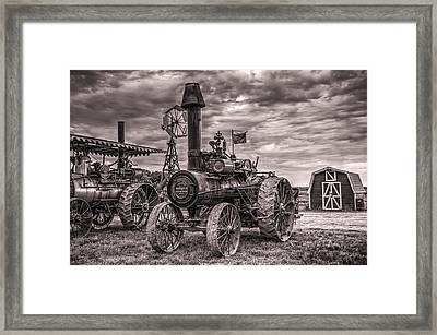 Advance Steam Traction Engine Framed Print
