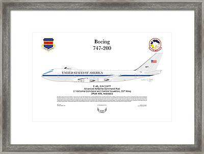 Advanced Airborne Command Post Framed Print