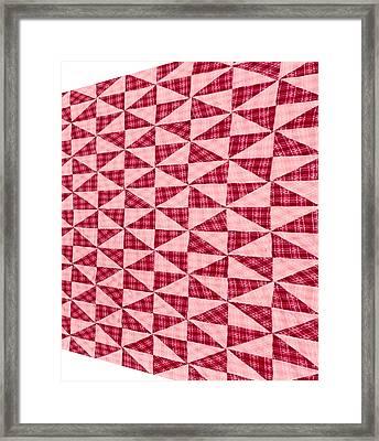 Advancing Pattern Framed Print by Douglas Barnett
