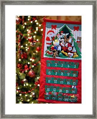 Advent Calendar Framed Print by Amy Cicconi