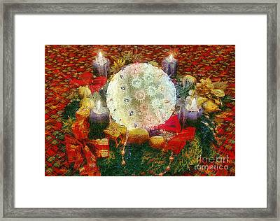 Advent  Framed Print by Odon Czintos