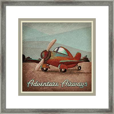 Adventure Air Framed Print by Cindy Thornton