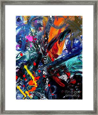 Framed Print featuring the painting Adventure by Christine Ricker Brandt