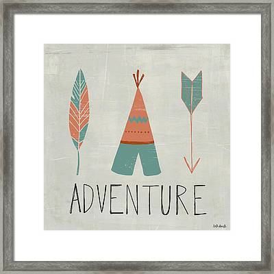 Adventure Framed Print by Katie Doucette