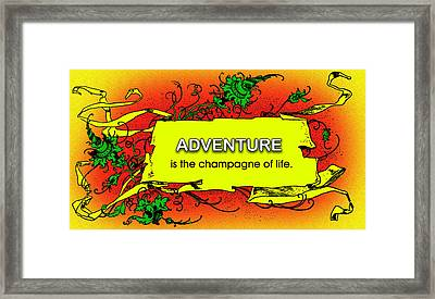 Adventure Framed Print by Mike Flynn