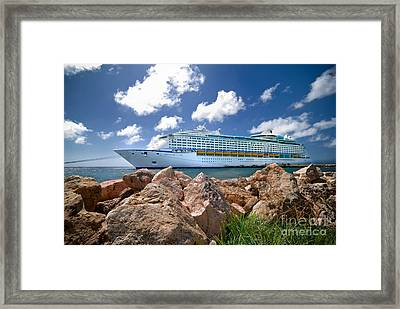 Adventure Of The Seas Framed Print