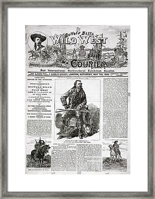 Advertisement Framed Print