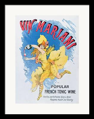 Bordeaux Drawings Framed Prints